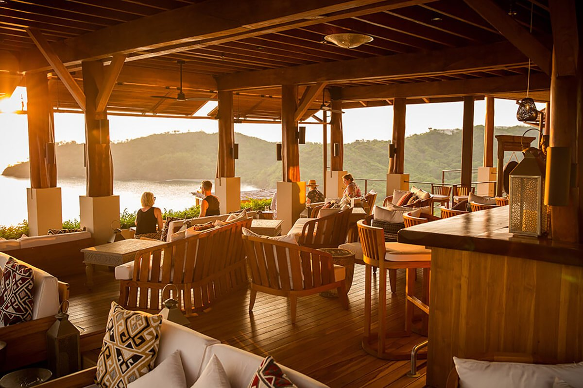 Sentido Norte Restaurant Casa Chameleon Hotel Las Catalinas